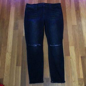 Joe's brand distressed jeans